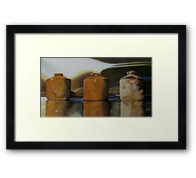 The Ink Pots Framed Print