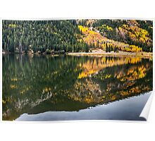 Cottonwood Lake Reflections Poster