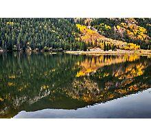 Cottonwood Lake Reflections Photographic Print