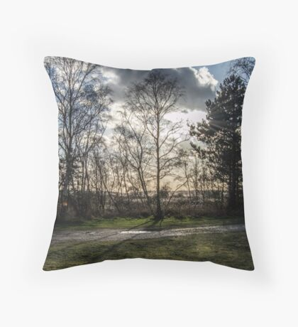 Sparse Tree Throw Pillow