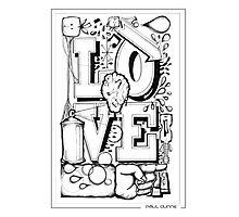 LOVE U DO Photographic Print