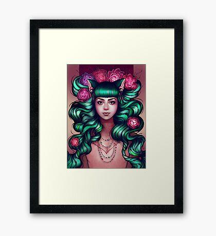 Delilah Framed Print
