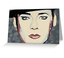 Boy George Greeting Card