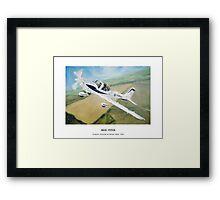Grob Tutor Aviation Art Framed Print
