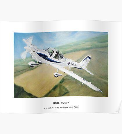 Grob Tutor Aviation Art Poster