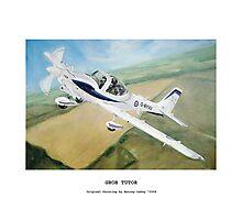 Grob Tutor Aviation Art Photographic Print