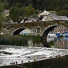 Bridge at Graiguenamanagh  by Esther  Moliné