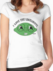 I love the limelight! Women's Fitted Scoop T-Shirt