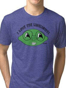 I love the limelight! Tri-blend T-Shirt