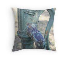 Apple water pump Throw Pillow