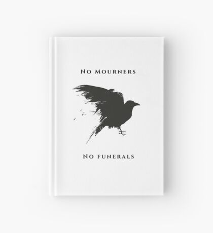 No Mourners  Hardcover Journal