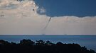 AND . . . TWIN  waterspouts off tweed coast, 31 July 2009 by Odille Esmonde-Morgan