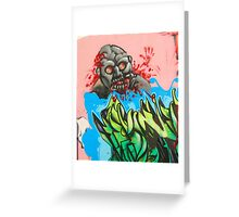 Twisted but Creative Mind of an Atlanta Tagger Greeting Card