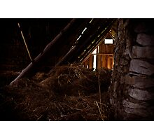 Welcome to the Attic Photographic Print