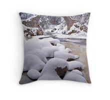 Carr Bridge,  Highlands, Scotland Throw Pillow