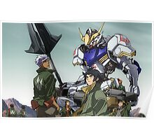 Mobile Suit Gundam: Iron-Blooded Orphans - Poster Poster