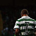 Henrik Larsson 7 - Celtic Legend by Vagelis Georgariou