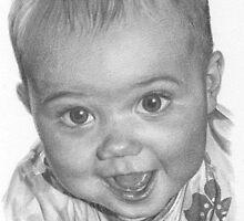 A4 Portrait Commission (Amy) by Sami Thorpe