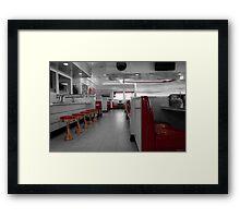Retro Deli Framed Print