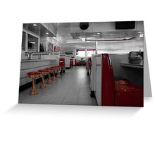 Retro Deli Greeting Card