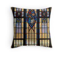 Jesus & Mary Window Throw Pillow