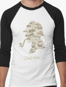 Sherlock Holmes The Canon Men's Baseball ¾ T-Shirt