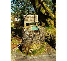 Parking Meter in Dartmoor Photographic Print