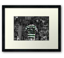 Lubomir Moravcik 25 - Celtic Legend Framed Print