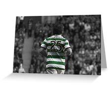 Lubomir Moravcik 25 - Celtic Legend Greeting Card