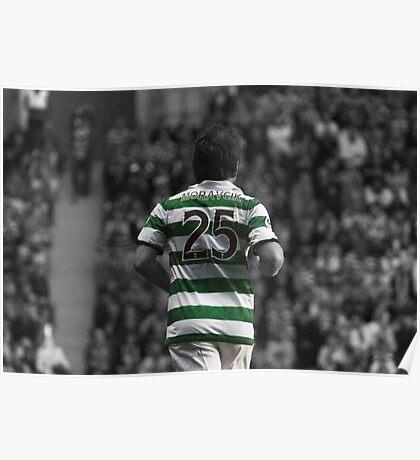 Lubomir Moravcik 25 - Celtic Legend Poster