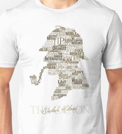 Sherlock Holmes The Canon (white) Unisex T-Shirt