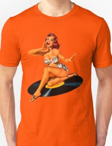 Rockabilly Goddess Unisex T-Shirt