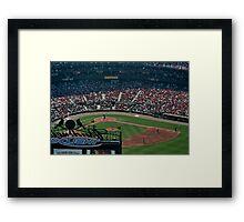 St Louis Baseball Stadium Framed Print