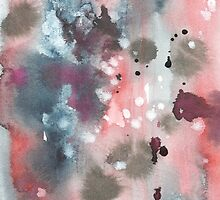 Hand drawn abstract water color background by TrishaMcmillan