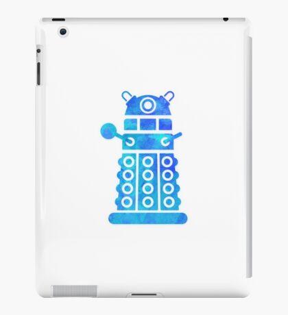 dalek blue version iPad Case/Skin