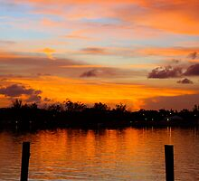 Sunset over Montagu Beach, Nassau, Bahamas by AndrewWilson94