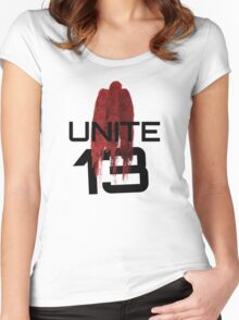 UNITE Women's Fitted Scoop T-Shirt