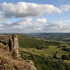 Peak District at Curbar Edge by cofiant