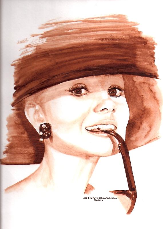 Hepburn by Opanowicz