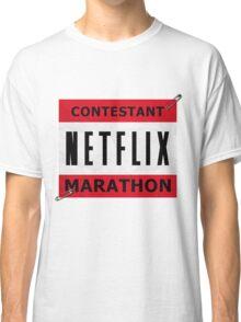 Netflix Marathon Classic T-Shirt