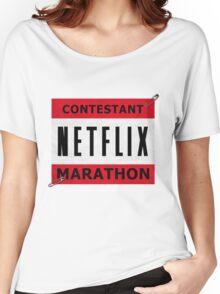 Netflix Marathon Women's Relaxed Fit T-Shirt