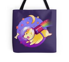 See You Space Corgi Tote Bag