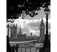 Parliament (a view from the South Bank) Photographic Print
