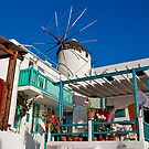 Greece. Mykonos. Windmill. by vadim19