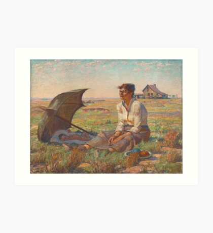 Dakota Woman Art Print