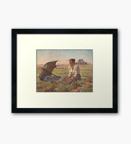 Dakota Woman Framed Print