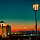 Greece. Mykonos. Night. Church. by vadim19