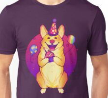 Birthday Corgi! Unisex T-Shirt