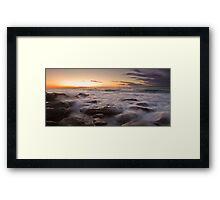 Little Bay Rising Framed Print