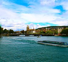 Swiss River Cruise by AndrewWilson94